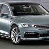 Электрический преемник VW Phaeton готовится к Женеве 2018