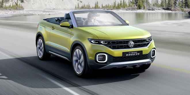 Volkswagen готовит компактный кроссовер для рынка Америки