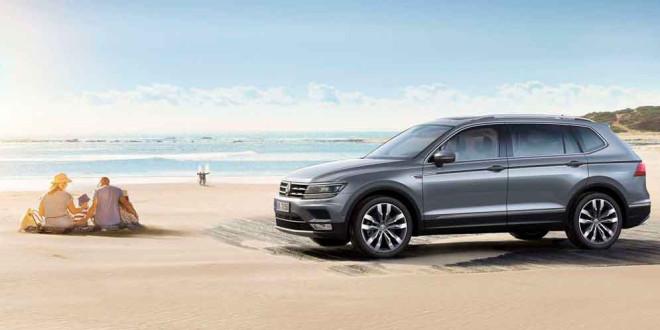 Семиместный VW Tiguan Allspace уже в продаже. Цены, версии