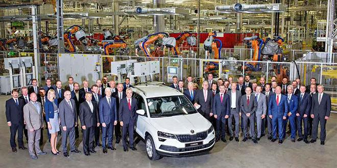 Skoda выпустила свой 20-миллионный автомобиль: это Karoq