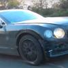 Новый Bentley Flying Spur 2019 замечен на дорожных тестах