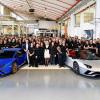 Lamborghini выпустила 7 000-й Aventador и 9 000-й Huracan