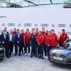 Баварский ФК FC Bayern München пересел на новые Audi