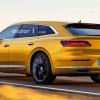 Универсал Volkswagen Arteon Shooting Brake: пока неофициально