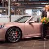 Теннисистка Лаура Зигемунд получила в подарок особый Porsche