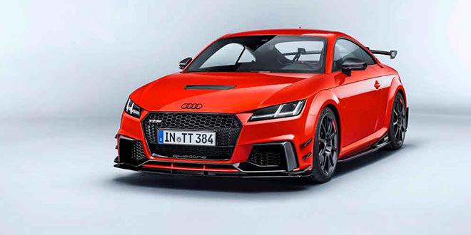 Новая Audi TT Clubsport Concept представлена на SEMA-2017