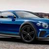 Внедорожный Bentley Continental GT 4×4, неофициально