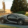 Первый Bugatti Chiron на кастомных колесах