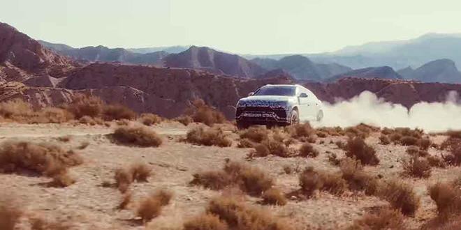 Lamborghini Urus показал себя на бездорожье в режиме Terra