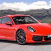 Возможный дизайн новой Porsche 911 в разных версиях
