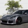 Новая Porsche Panamera в обвесе TechArt на дисках Forgiato