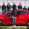Игроки ФК «Реал Мадрид» получили в подарок новые Audi