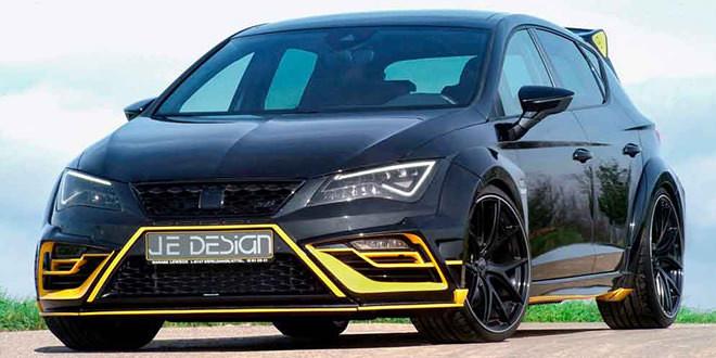 Сумасшедший тюнинг SEAT Leon Cupra от JE Design