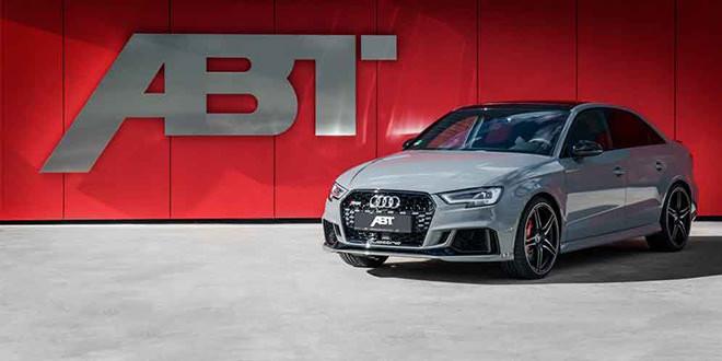 Седан и хэтчбек Audi RS3 получили новый тюнинг от ABT
