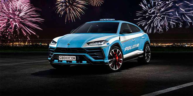 Полицейский Lamborghini Urus, пикап и другие версии виртуально
