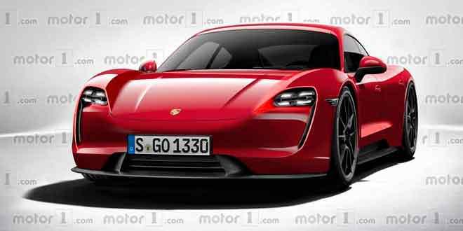 Электрокар Porsche, Mission E выйдет в нескольких версиях