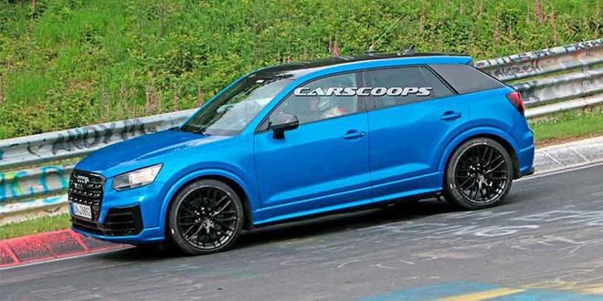 Новую Audi SQ2 уже тестируют без маскировки