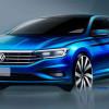 Опубликованы новые официальные тизеры Volkswagen Jetta 2018