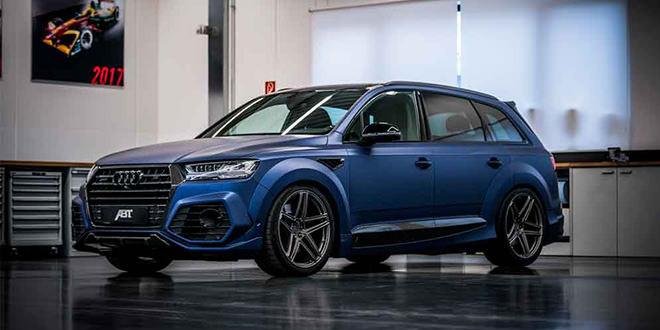 Новые Audi Q7 и SQ7 получили обвес ABT и колёса Vossen