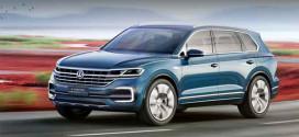 Новый Volkswagen Touareg 2018 замечен без маскировки