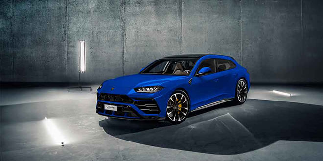 Универсал Lamborghini как ответ Panamera Sport Turismo