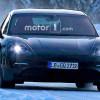 Porsche Mission E проходит зимние испытания