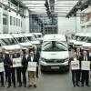 Первые электро-фургоны Volkswagen e-Crafter доставили клиентам