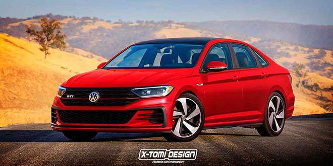 Новая 2019 Volkswagen Jetta R и GTI по версии X-Tomi Design