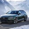 Новая Audi RS4 Avant на зимних фото в Швейцарских Альпах