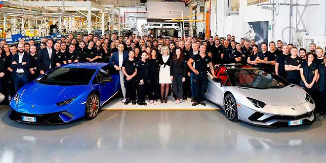 Отчет Lamborghini за 2017 год: продано 3 815 суперкаров