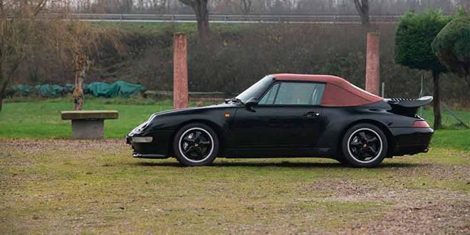 1 из 14 Porsche 993 Turbo Cabriolet продадут на аукционе