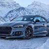 Эффектная фотосессия Audi RS5-R от ABT Sportsline в Альпах