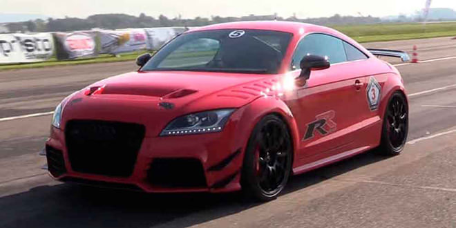 Тюнинг Audi TT-RS до 750-сил. Почти R8 V10 Plus, но меньше
