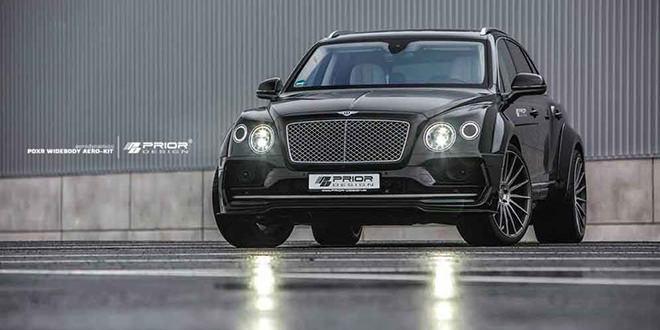 Prior Design подправил внешность Bentley Bentayga