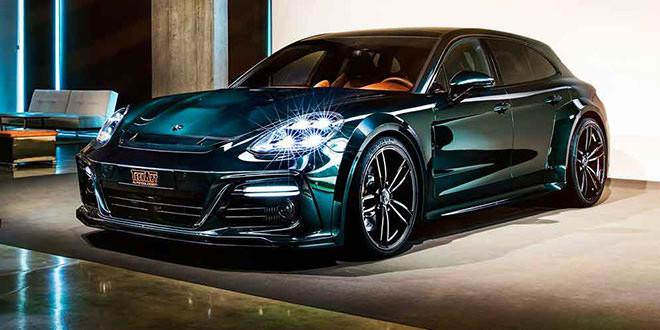Универсал Porsche Panamera получил пакет GrandGT от TechArt