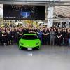 Тираж производства Lamborghini Huracan достиг 10 000 единиц