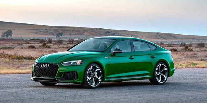 Супер-хэтчбек Audi RS5 Sportback официально в Нью-Йорке