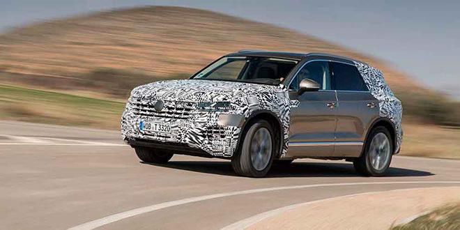Новый VW Touareg отправился из Братиславы в Пекин на премьеру