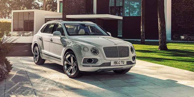 Гибрид Bentley Bentayga официально показали в Женеве