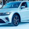 Гибрид Volkswagen Tiguan замечен на тестах без маскировки