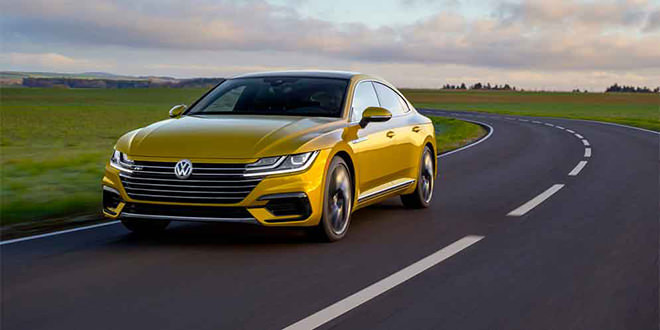 Новый Volkswagen Arteon R-Line Package показали официально