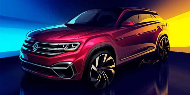 Пятиместный Volkswagen Atlas Concept покажут в Нью-Йорке