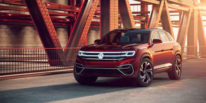 VW Atlas Cross Sport Concept — будущий ответ BMW X6