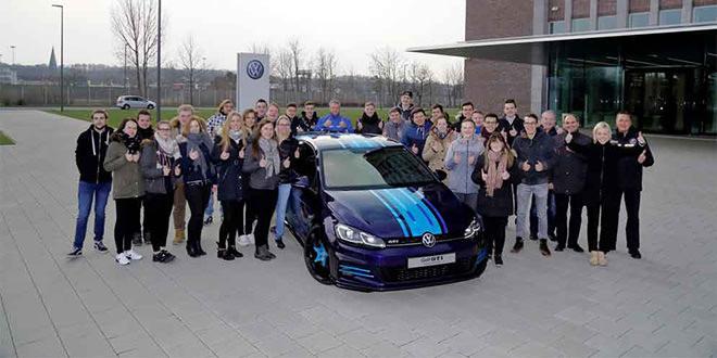 Стажёры Volkswagen готовят два концепта для Wörthersee 2018