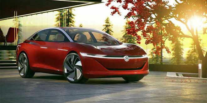 Автономный седан Volkswagen I.D. Vizzion заглянул в 2030 год