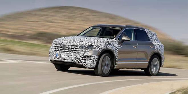 Volkswagen раскрыл больше информации про новый Touareg