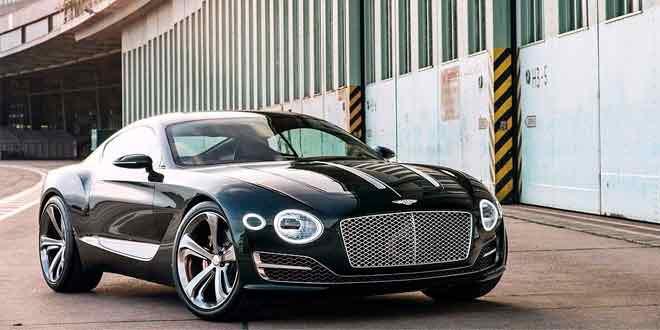 Bentley сделает следующий Continental GT электрокаром