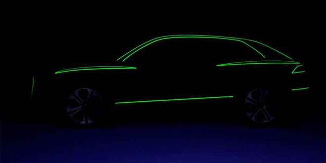 Новая Audi Q8 показалась на первом тизере