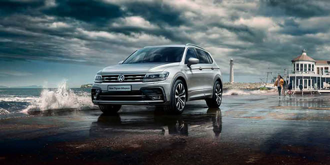Volkswagen T-Roc и Tiguan Allspace получили пакет R-Line