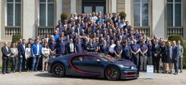 100-й Bugatti Chiron сошел с конвейера. Цена €2,85 млн